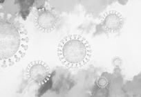 新型コロナウイルスと身の回りの変化の写真